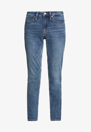 ROME - Jeansy Straight Leg - dark-blue denim