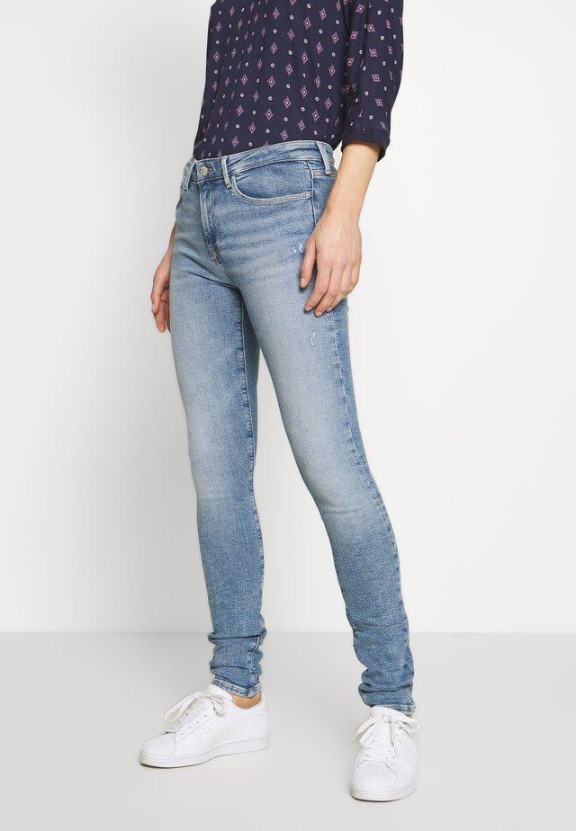COMO SARA - Jeans Skinny Fit - blue denim