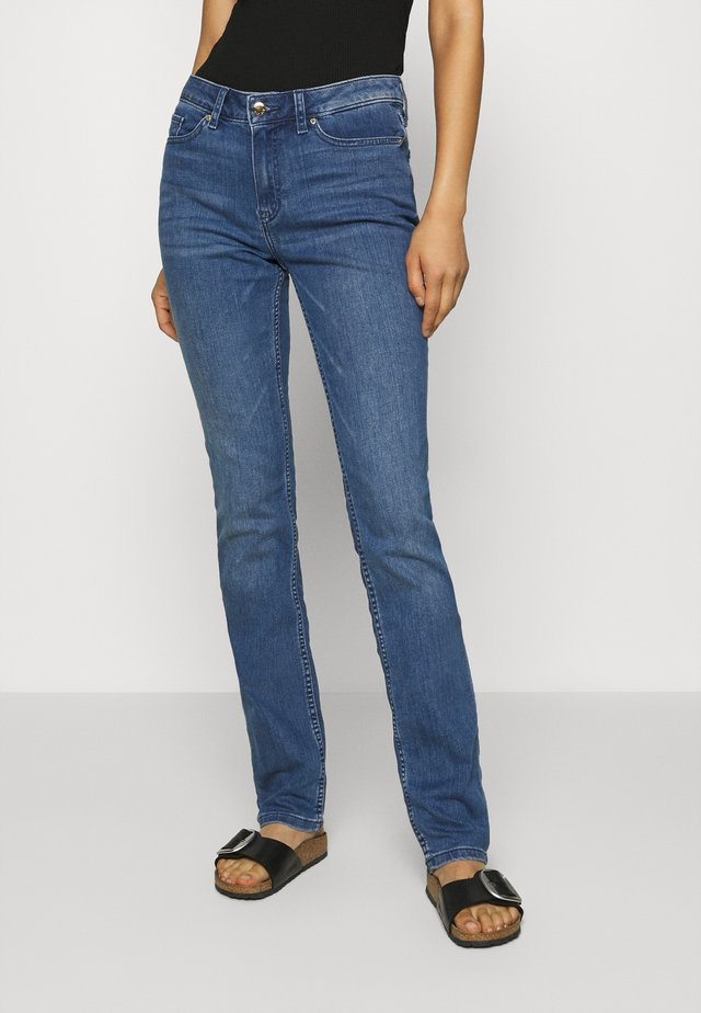 ROME STRAIGHT - Jeans a sigaretta - blue denim
