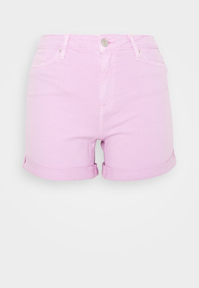 ROME HANA - Shorts vaqueros - frosted pink