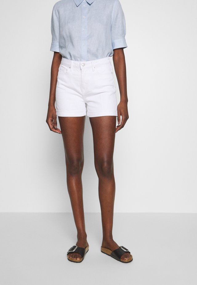ROME - Denim shorts - white