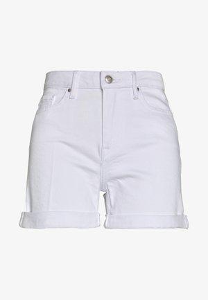 ROME - Szorty jeansowe - white