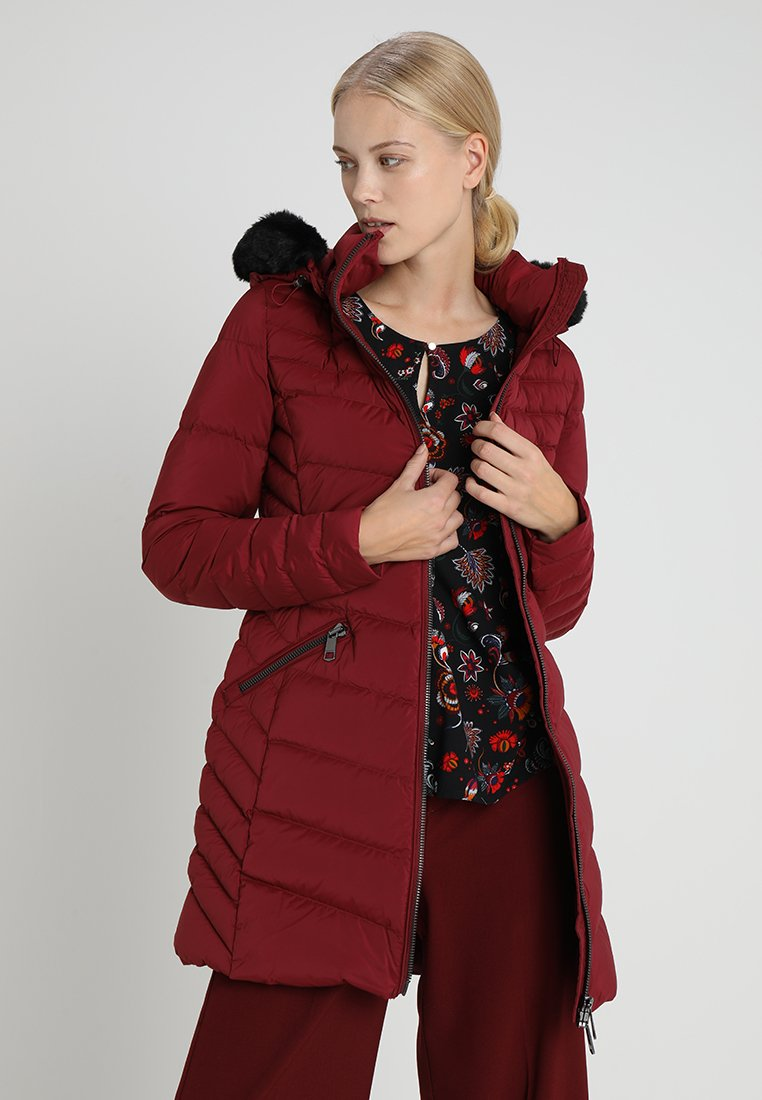 Tommy Hilfiger - APRIL COAT - Donsjas - red