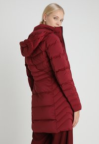Tommy Hilfiger - APRIL COAT - Donsjas - red - 3