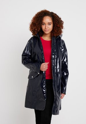 MAX LONG RAINCOAT - Parka - blue