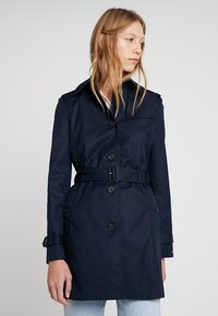 Tommy Hilfiger - HERITAGE SINGLE BREASTED - Trench - midnight - 0
