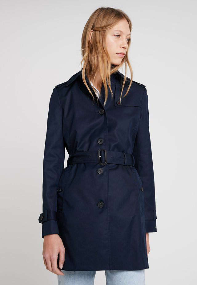 HERITAGE SINGLE BREASTED - Trenchcoat - midnight
