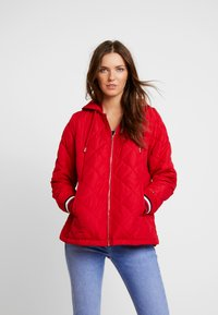 Tommy Hilfiger - IVAN QUILTED JACKET - Lett jakke - red - 0