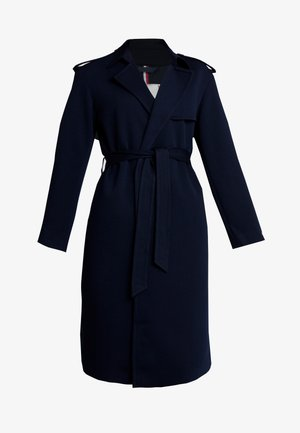 ROSHA WRAP - Trenchcoat - blue