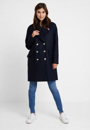 BELLE BLEND GREAT COAT - Classic coat - blue