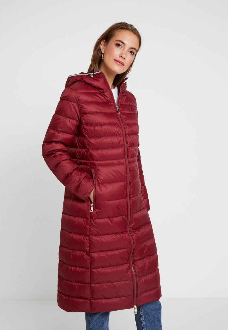 Tommy Hilfiger - ESSENTIAL MAXI COAT - Donsjas - red