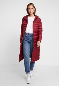 Tommy Hilfiger - ESSENTIAL MAXI COAT - Donsjas - red - 1