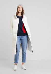 Tommy Hilfiger - PEARL COAT - Piumino - white - 1