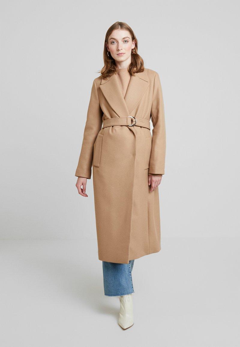 Tommy Hilfiger - BELLE BLEND BELTED COAT - Płaszcz wełniany /Płaszcz klasyczny - beige