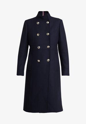 BELLE BLEND MAXI FUNNEL - Cappotto classico - blue