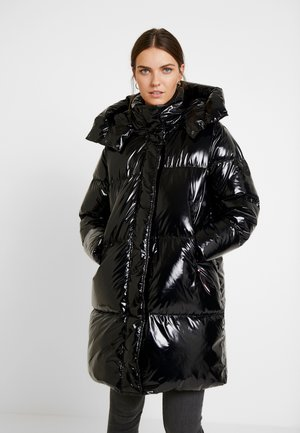 PALMER GLOSSY COAT - Down coat - black