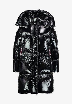 PALMER GLOSSY COAT - Down coat - black