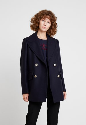 ESSENTIAL BLEND PEACOAT - Mantel - blue