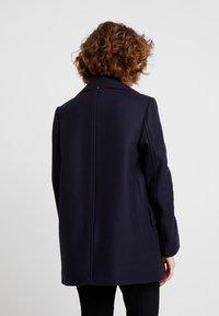 Tommy Hilfiger - ESSENTIAL BLEND PEACOAT - Classic coat - blue - 2