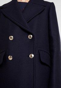 Tommy Hilfiger - ESSENTIAL BLEND PEACOAT - Classic coat - blue - 5