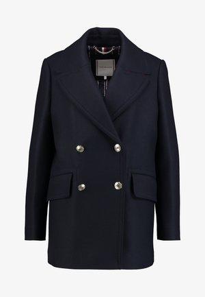 ESSENTIAL BLEND PEACOAT - Płaszcz wełniany /Płaszcz klasyczny - blue