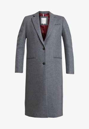 ESSENTIAL CLASSIC LONG COAT - Abrigo - grey