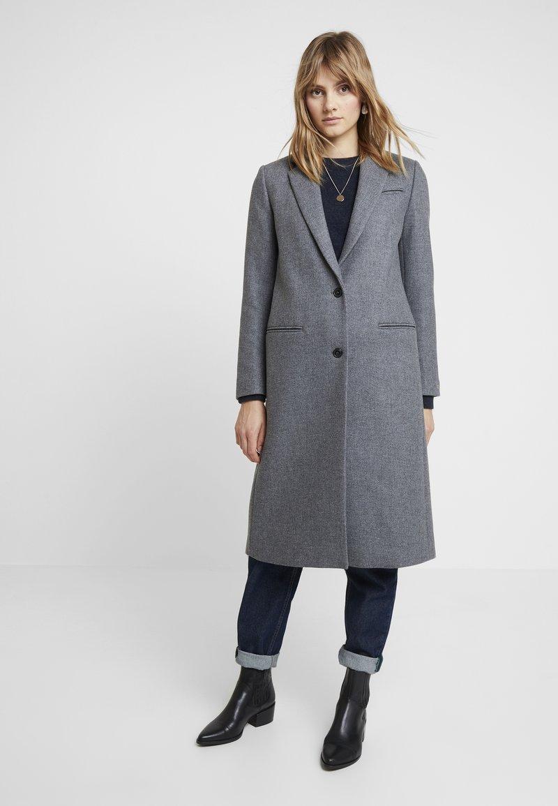 Tommy Hilfiger - ESSENTIAL CLASSIC LONG COAT - Zimní kabát - grey