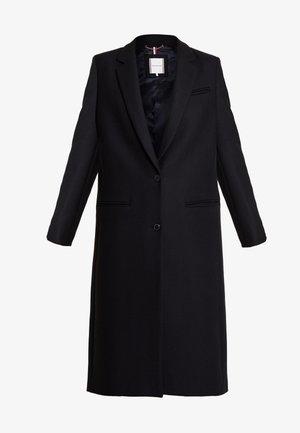 ESSENTIAL CLASSIC LONG COAT - Classic coat - black