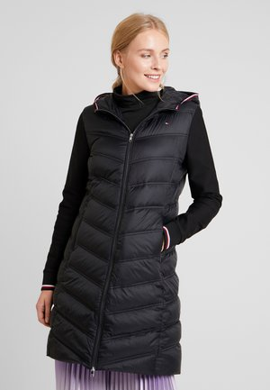 BELLA HYBRID COAT - Abrigo de plumas - black