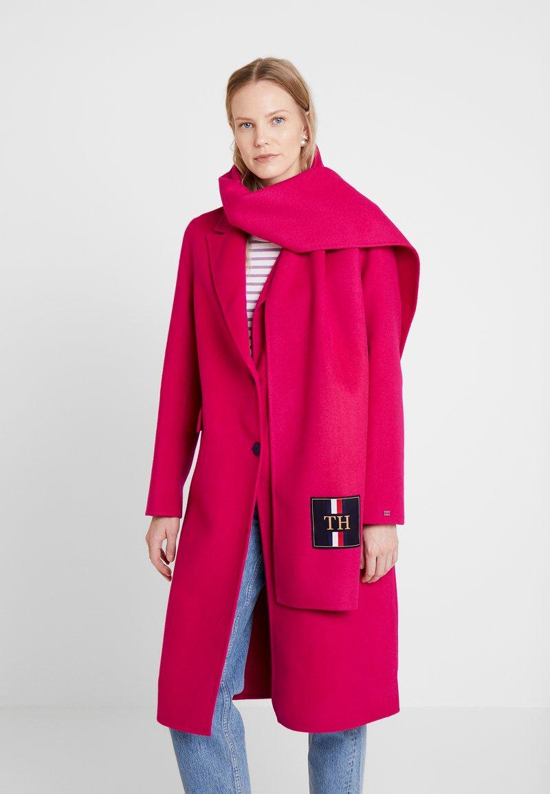 Tommy Hilfiger - BIANCA SCARF COAT - Płaszcz wełniany /Płaszcz klasyczny - bright jewel