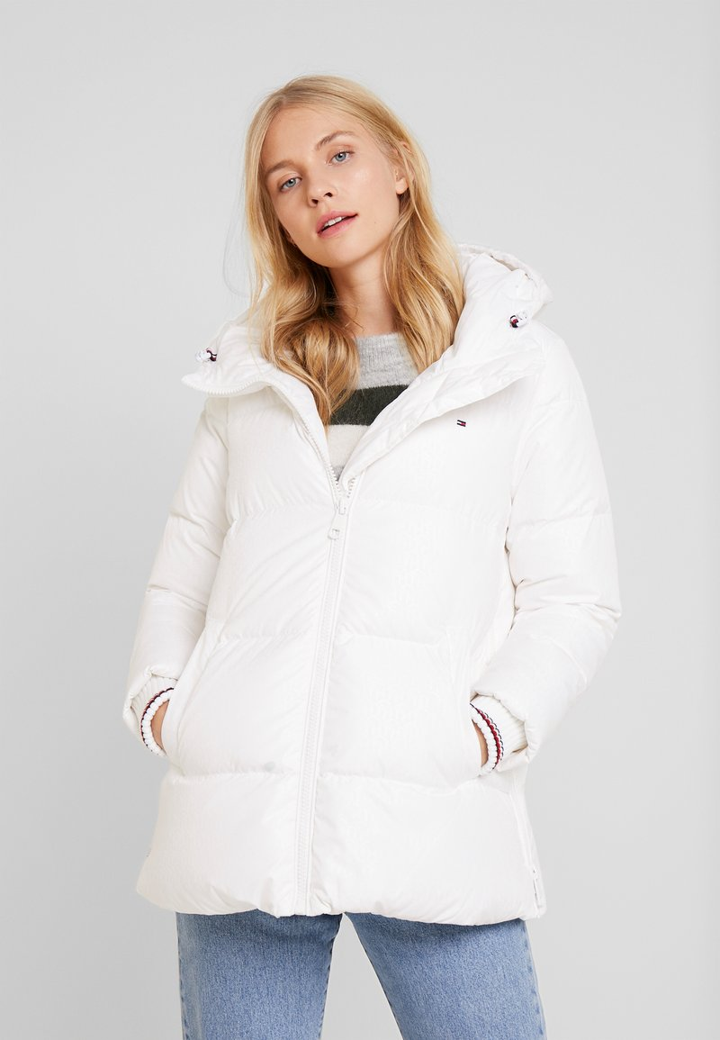 Tommy Hilfiger - NEW AMBER - Down jacket - white