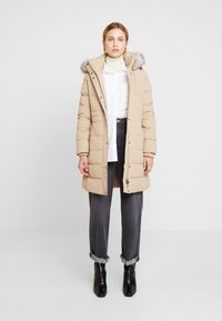 Tommy Hilfiger - NEW TYRA STRETCH INSULATION COAT - Winterjas - medium taupe - 1
