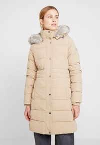 Tommy Hilfiger - NEW TYRA STRETCH INSULATION COAT - Winterjas - medium taupe - 0
