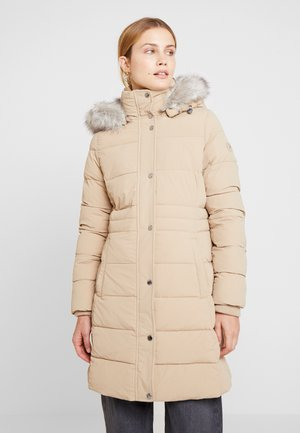 NEW TYRA STRETCH INSULATION COAT - Vinterkåpe / -frakk - medium taupe