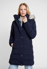 Tommy Hilfiger - NEW TYRA STRETCH INSULATION COAT - Winter coat - sky captain - 0
