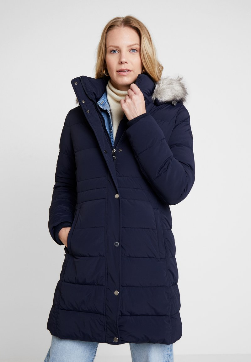 Tommy Hilfiger - NEW TYRA STRETCH INSULATION COAT - Winter coat - sky captain