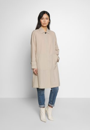 CLAUDIA PACKABLE CRINKLE  - Classic coat - light stone