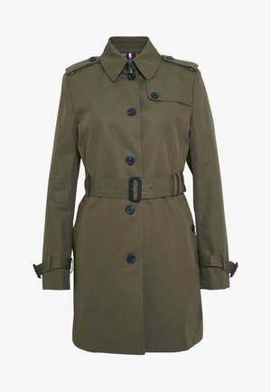 SINGLE BREASTED  - Trenchcoat - army green