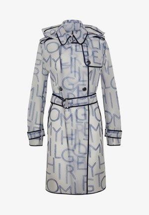 FELICIA HOODED RAIN - Trenchcoat - blue ink