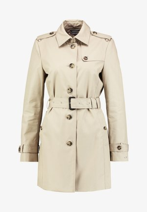 HERITAGE SINGLE BREASTED TRENCH - Trenchcoat - medium taupe