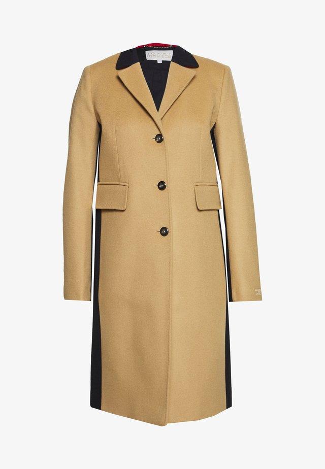ICON CLASSIC - Płaszcz wełniany /Płaszcz klasyczny - classic khaki