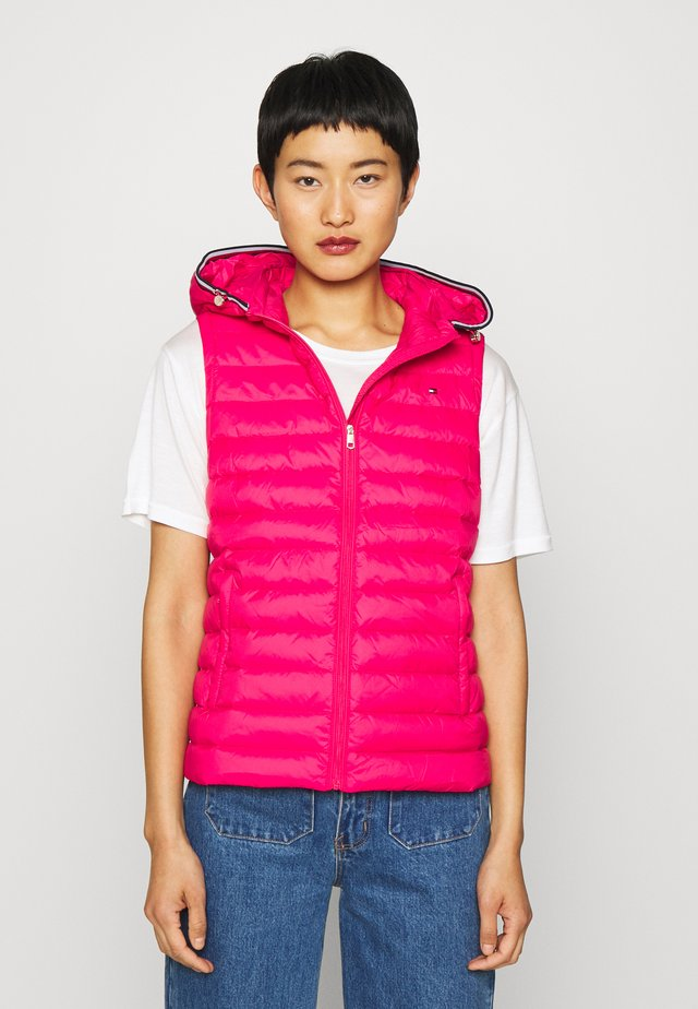 ESSENTIAL VEST - Chaleco - ruby jewel