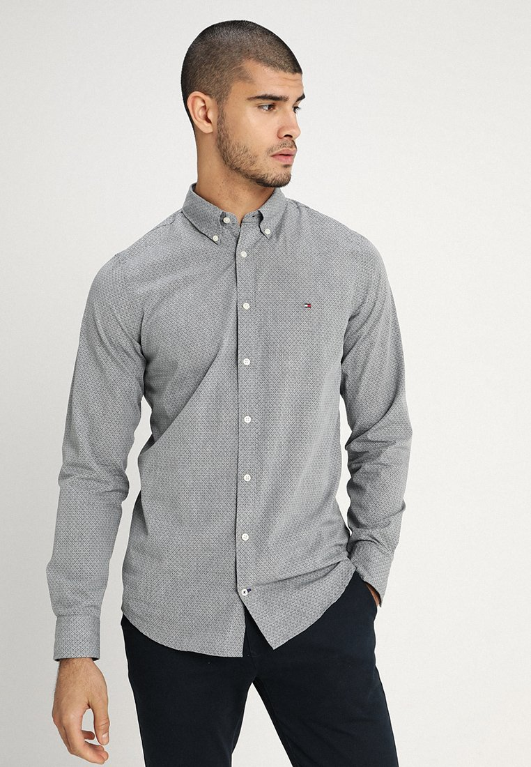 Tommy Hilfiger - SLIM MULTI DASH SHIRT - Hemd - grey