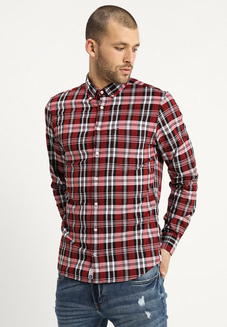 Tommy Hilfiger - OXFORD  - Hemd - red