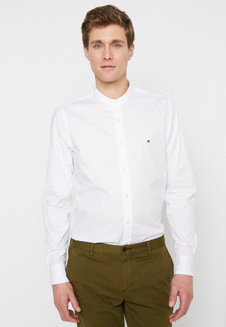 Tommy Hilfiger - SLIM MANDARIN SHIRT - Shirt - white