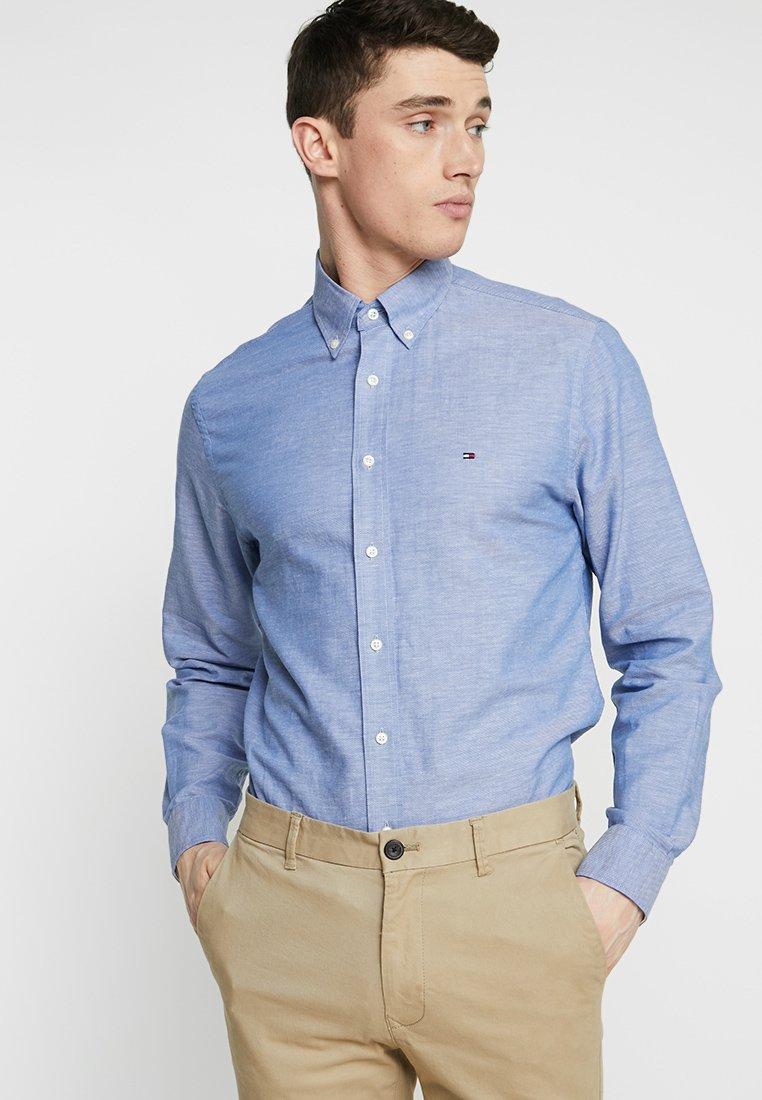Tommy Hilfiger - DOBBY - Camisa - blue