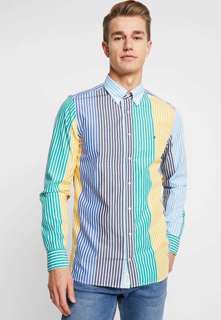 Tommy Hilfiger - MULTI COLORED STRIPE - Hemd - blue