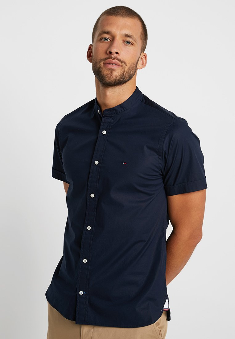 Tommy Hilfiger - SLIM STRETCH - Skjorter - blue
