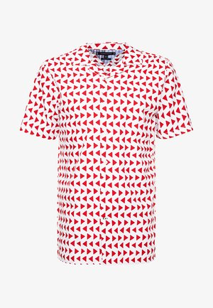 BOLD GEO SHIRT - Skjorta - red