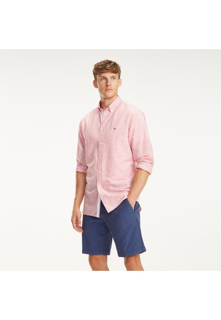 Tommy Hilfiger - Shirt - lilac rose/bright white